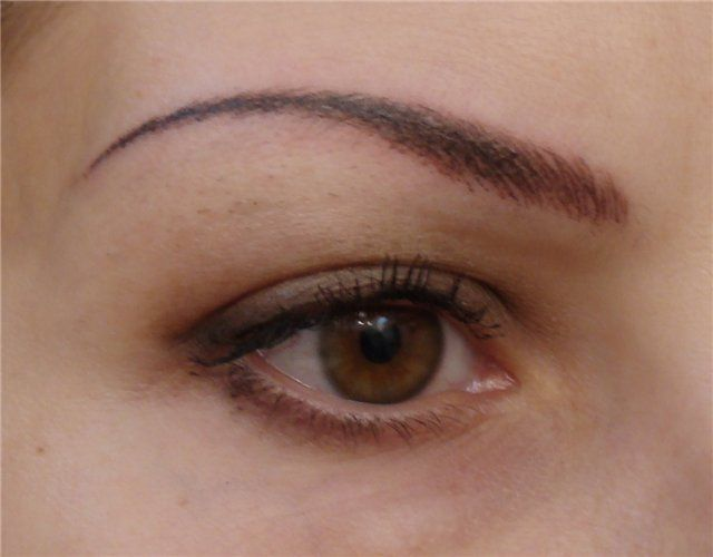 Permanent make up augenbrauen tattoo for How to make a permanent tattoo