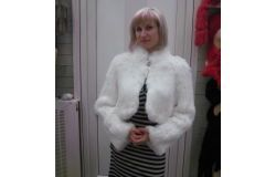 Naturalne Rabbit Fur Coat