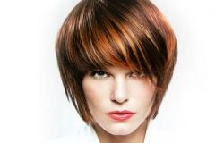 Bob haircut Feminina
