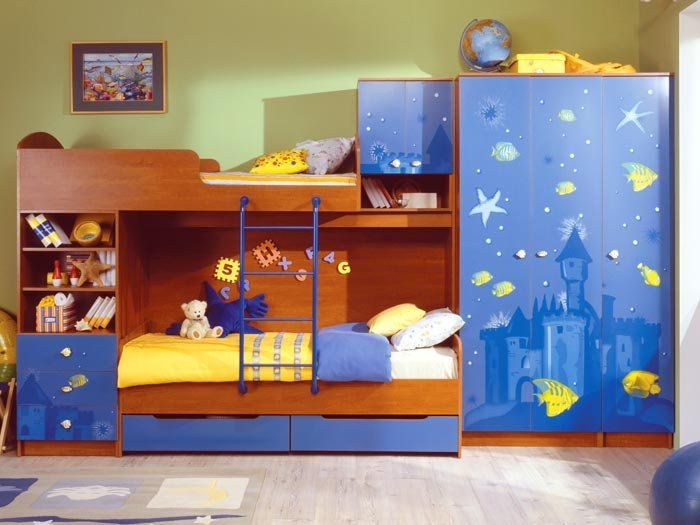 wie man ein kinderzimmer f r 2 kinder auszustatten. Black Bedroom Furniture Sets. Home Design Ideas