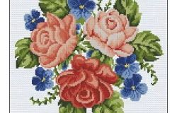 Cross Stitch: Blumen