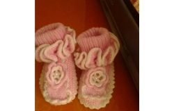 Wie Booties Kinder binden